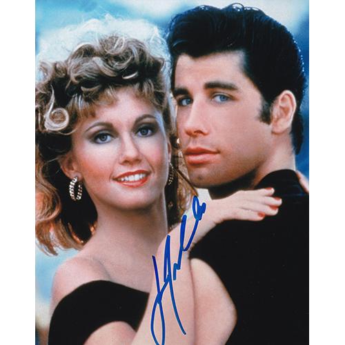 "John Travolta Autographed 8""x10"" (Grease)"