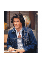 "John Travolta Autographed 8""x10"" (Welcome Back Kotter)"