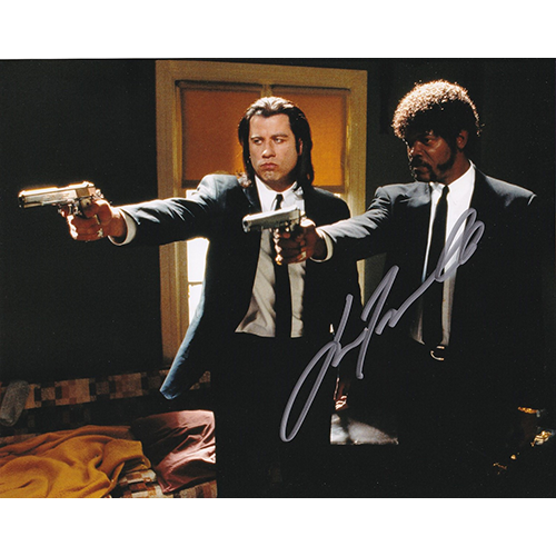 "John Travolta Autographed 8""x10"" (Pulp Fiction)"