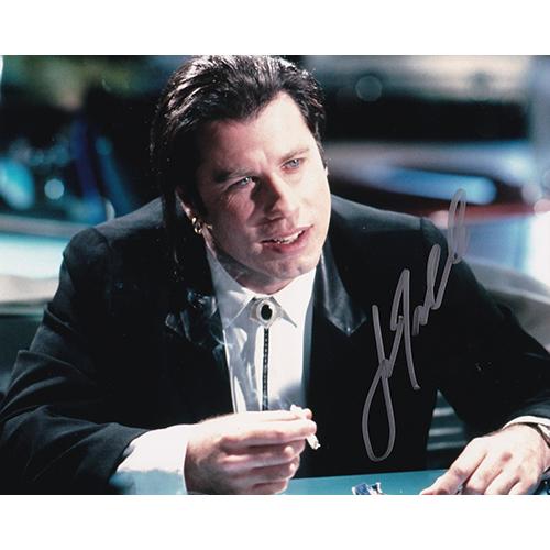 "John Travolta Autographed 8""x10"" (Pulp Fiction)"