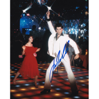 "John Travolta Autographed 8""x10"" (Saturday Night Fever)"