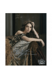 """Adelaide Kane Autographed 8""""x10"""" (Reign)"""