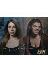 """Adelaide Kane Autographed 8""""x10"""" (Teen Wolf)"""