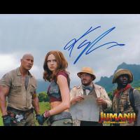 """Karen Gillan Autographed 8""""x10"""" (Jumanji)"""