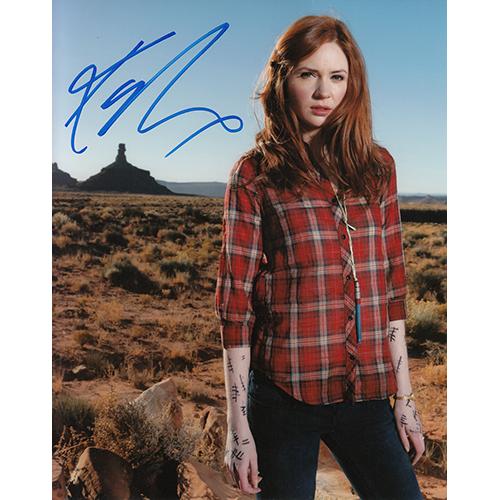 "Karen Gillan Autographed 8""x10"" (Doctor Who)"