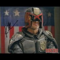 """Karl Urban Autographed 8""""x10"""" (Judge Dredd)"""