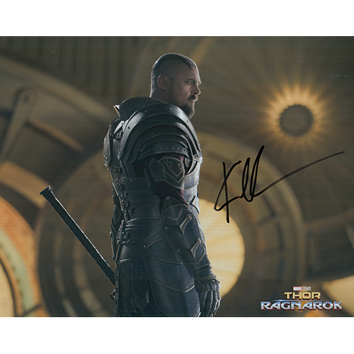 "Karl Urban Autographed 8""x10"" (Thor: Ragnarok)"