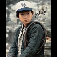 "Ke Huy Quan Autographed 8""x10"" (Indiana Jones)"