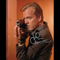 """Kiefer Sutherland Autographed 8""""x10"""" (24)"""