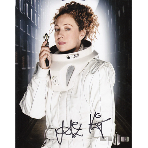 """Alex Kingston Autographed 8""""x10"""" (Doctor Who)"""
