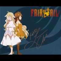 "Leah Clark Autographed 8""x10"" (Fairy Tail)"