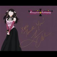 """Leah Clark Autographed 8""""x10"""" (Rosario Vampire)"""