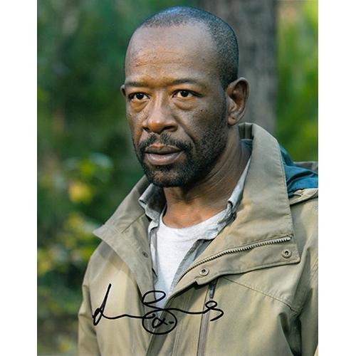 """Lennie James Autographed 8"""" x 10"""" (The Walking Dead 1)"""