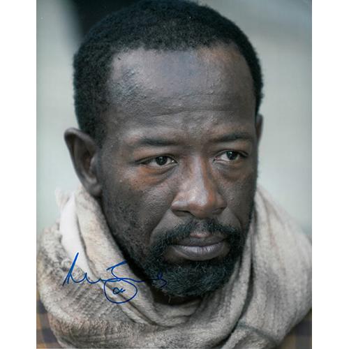 """Lennie James Autographed 8"""" x 10"""" (The Walking Dead 2)"""