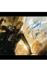 "Zachary Levi Autographed 8""x10"" (Thor: The Dark World)"