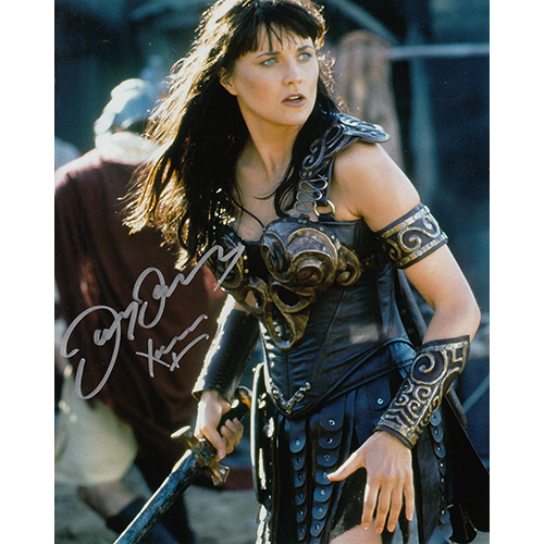 "Lucy Lawless Autographed 8""x10"" (Xena, Warrior Princess)"