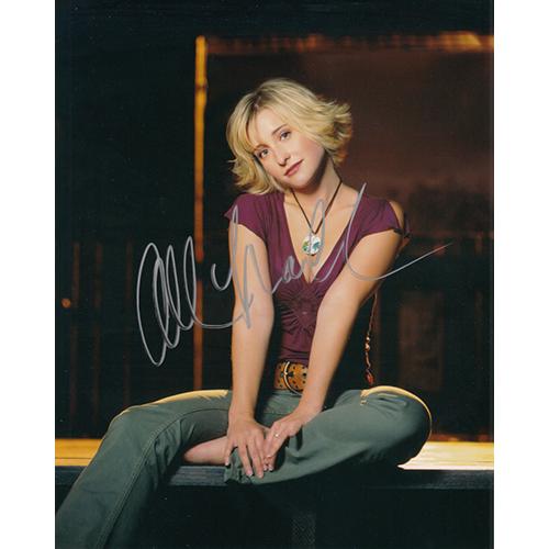 """Allison Mack Autographed 8""""x10"""" (Smallville)"""