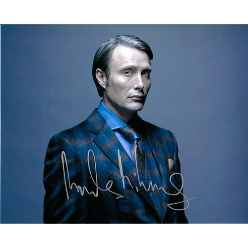 """Mads Mikkelson Autographed 8"""" x 10"""" (Hannibal)"""