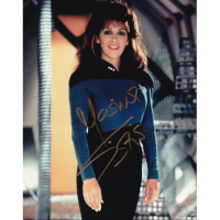 "Marina Sirtis Autographed 8""x10"" (Star Trek: The Next Generation)"