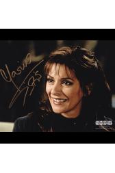 "Marina Sirtis Autographed 8""x10"" (Star Trek: The Next Generation)"