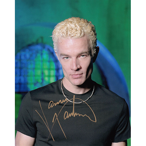 "James Marsters Autographed 8""x10"" (Buffy 4)"