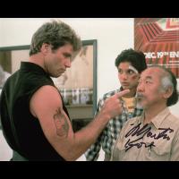 "Martin Kove Autographed 8""x10"" (Karate Kid)"