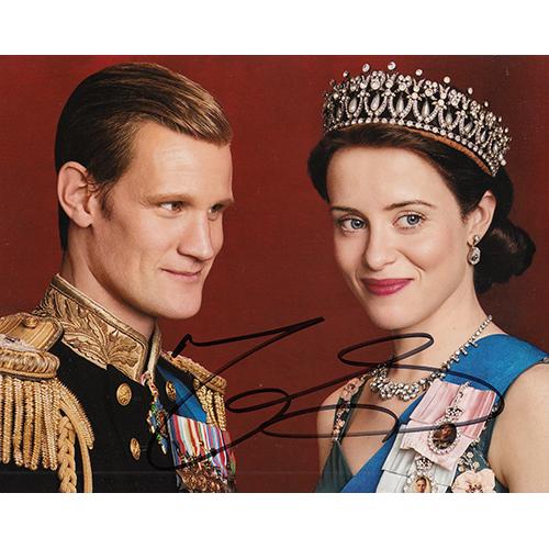 "Matt Smith Autographed 8""x10"" (The Crown)"