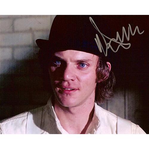 "Malcolm McDowell Autographed 8""x10"" (Clockwork Orange 2)"