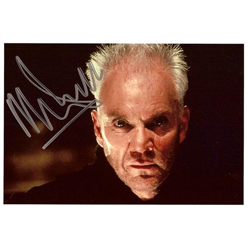 "Malcolm McDowell Autographed 8""x10"" (Star Trek)"