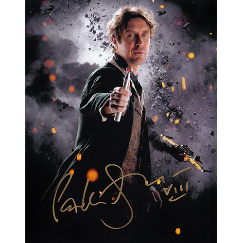 """Paul McGann Autographed 8""""x10"""" (Doctor Who - Screwdriver)"""