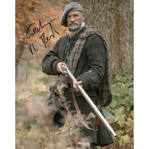 "Graham McTavish Autographed 8""x10"" (Outlander)"