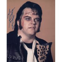"""Meat Loaf Autographed 8""""x10"""" (Rocky Horror Picture Show)"""