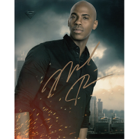 "Mehcad Brooks Autographed 8""x10"" (Supergirl)"
