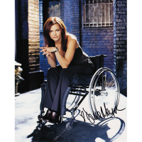 "Dina Meyer Autographed 8""x10"" (Birds of Prey)"