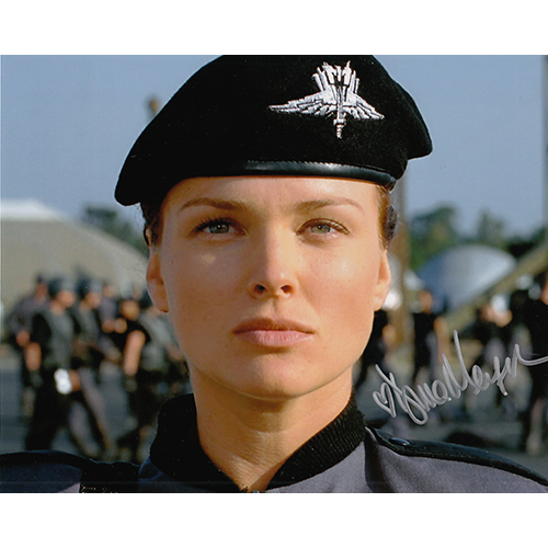 """Dina Meyer Autographed 8""""x10"""" (Starship Troopers)"""