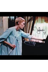 """Mia Farrow Autographed 8""""x10"""" (Rosemarys Baby)"""