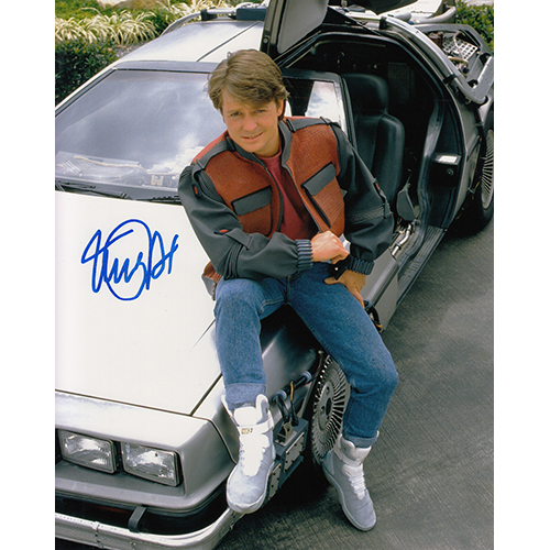 "Michael J. Fox Autographed 8""x10"" (Back the the Future)"
