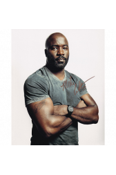 "Mike Colter Autographed 8""x10"" (Luke Cage)"