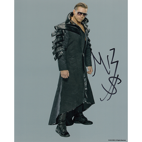 """The Miz Autographed 8""""x10"""" (WWE)"""