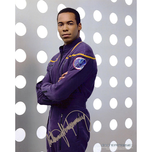"Anthony Montgomery Autographed 8""x10"" (Star Trek: Enterprise)"
