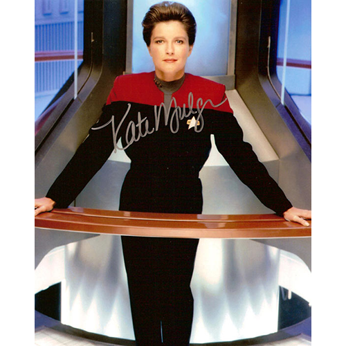 "Kate Mulgrew Autographed 8""x10"" (Star Trek: Voyager 1)"