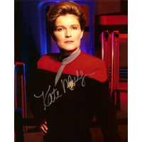 "Kate Mulgrew Autographed 8""x10"" (Star Trek: Voyager 2)"