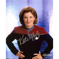 "Kate Mulgrew Autographed 8""x10"" (Star Trek: Voyager 3)"