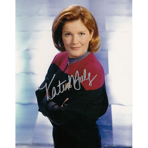 "Kate Mulgrew Autographed 8""x10"" (Star Trek Voyager)"
