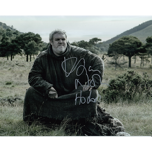 "Kristian Nairn Autographed 8""x10"" (Game of Thrones)"