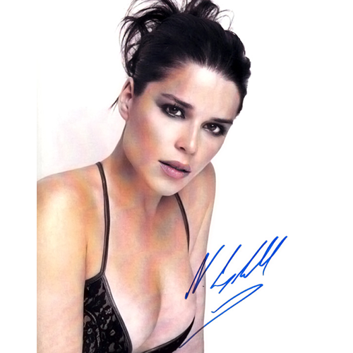"""Neve Campbell Autographed 8"""" x 10"""" - 2"""