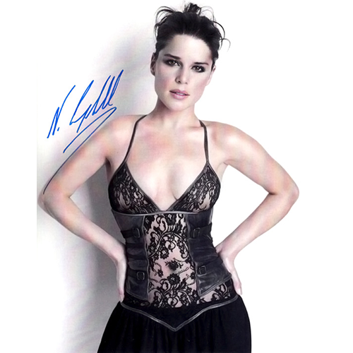 """Neve Campbell Autographed 8"""" x 10"""" - 3"""