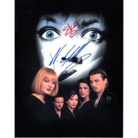 "Neve Campbell and Skeet Ulrich Autographed 8"" x 10"" (Scream 1)"