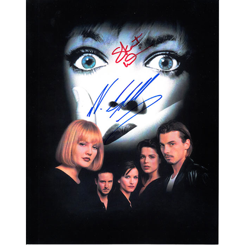 """Neve Campbell and Skeet Ulrich Autographed 8"""" x 10"""" (Scream 1)"""