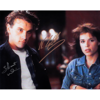 "Neve Campbell and Skeet Ulrich Autographed 8"" x 10"" (Scream 2)"